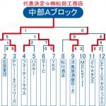 2013ビクトリー杯 沖縄・中部Aブロックトーナメント表