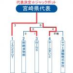 2013ビクトリー杯・宮崎県トーナメント表