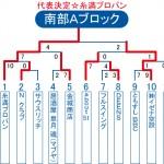 2013ビクトリー杯 沖縄・南部Aブロックトーナメント表