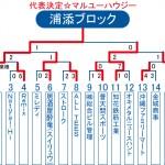 2013ビクトリー杯 沖縄・浦添ブロックトーナメント表