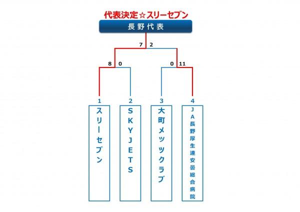 2014年ビクトリー杯長野県大会トーナメント