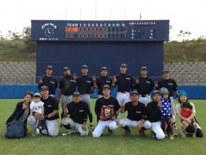 2014年ビクトリー杯ベースボール大会 沖縄中央大会優勝の武装戦線
