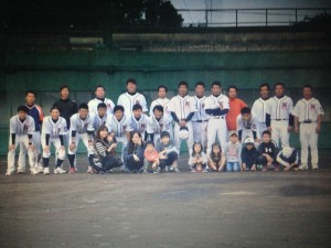 2014年ビクトリー杯ベースボール大会 九州大会出場・熊本県代表の中村造園