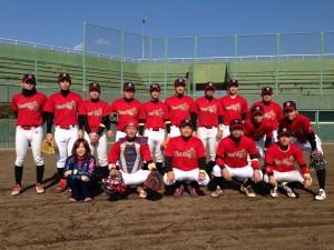 2014年ビクトリー杯ベースボール大会 九州大会出場・大分県代表のFlower Time 藤山工業