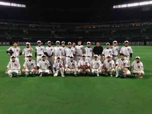 2014年ビクトリー杯ベースボール大会 九州大会準優勝・熊本県代表の中村造園