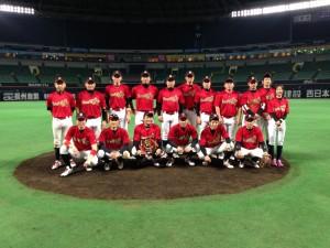 2014年ビクトリー杯ベースボール大会 九州大会優勝・大分県代表のFlower Time 藤山工業