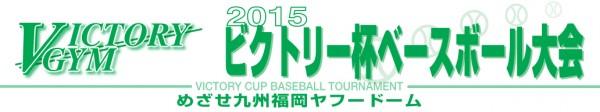 2015ビクトリー杯ベースボール大会