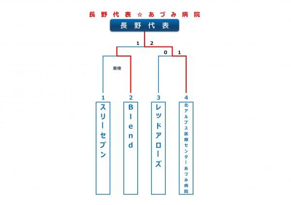2015年ビクトリー杯長野ブロックトーナメント表