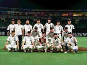 2015年ビクトリー杯ベースボール大会 九州大会優勝・山笠クラブ(福岡県)