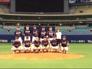 2014年ビクトリー杯ベースボール大会 中部日本大会優勝・東海地区代表のゼロバヤシ