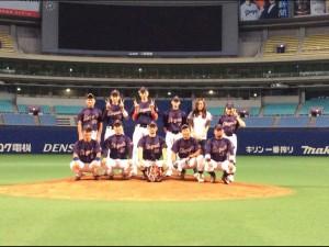 2015年ビクトリー杯ベースボール大会 中部日本大会優勝・東海地区代表のゼロバヤシ 大会2連覇